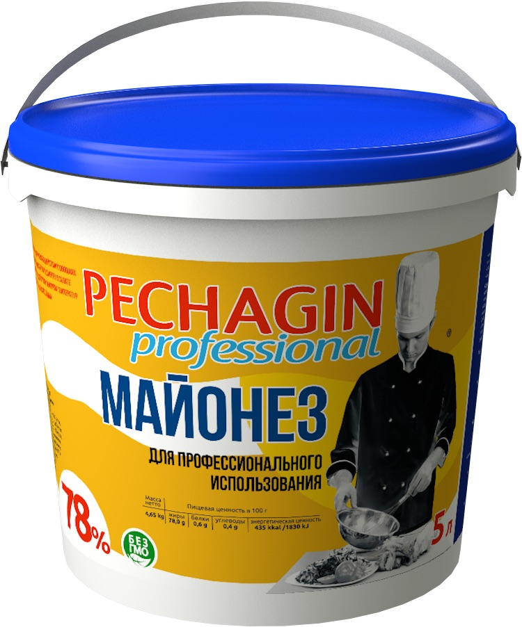 Майонез Pechagin Professional 78% 5кг